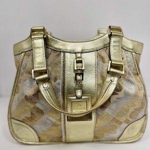 Sale!L.A.M.B. Gold Christine Angel Bag (very rare)